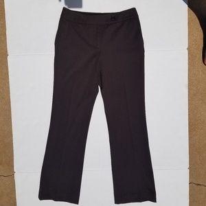 Talbots Brown Dress Pants size 2